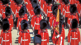 Londen Changing of the guards